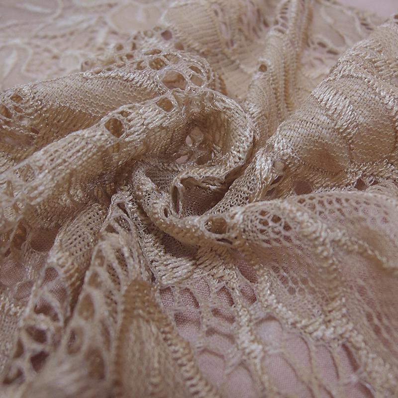 Женская блузка с цветочными кружевами и длинным рукавом YTL