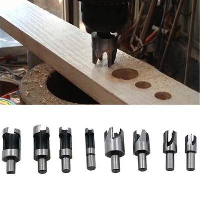 6Pcs Drill Bit Set en Bois Trou Coupeur ennuyeux Auger Woodworking le