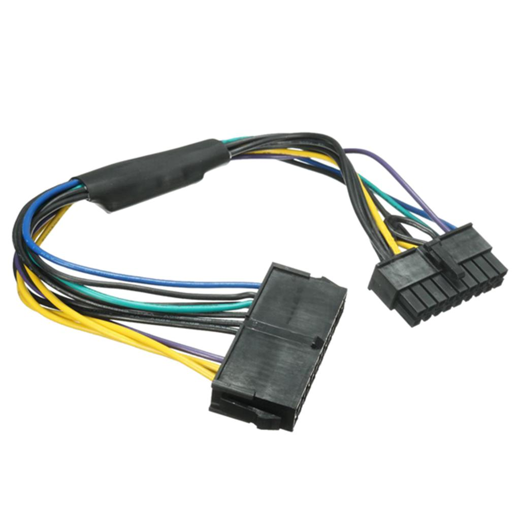 ATX power cable ATX 24pin motherboard 18 pins adapter power supply cable  18awg for HP z420 z620