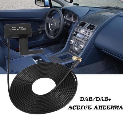 DAB / DAB+ Digital Car Radio Active Antenna Aerial SMB Right