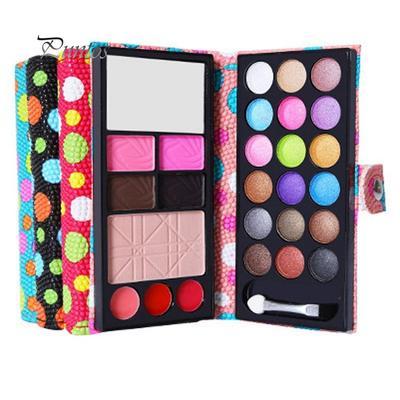 Fashion 26colors Eye Shadow Makeup Palette Cosmetic Eyeshadow Blush Lip Gloss Powder Eyebrow Powder Sealing Waterproof Cosmetic Eyebrow Enhancers