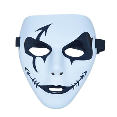 1pc Plastic Halloween Masquerade Props Cosplay Party Ghost Skull