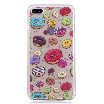 Ultra Thin Donuts Painted Drop Resistance Phone Case for iPhone Soft TPU Back Protection Cover