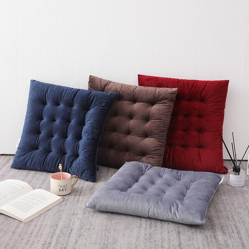 Buy 45cm Quilted Velvet Padded Cushion Chair Seat Pads With Ties Garden Dining Kitchen At Affordable Prices Free Shipping Real Reviews With Photos Joom