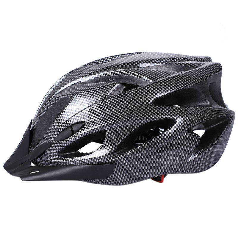 Carbon Bicycle Helmet Bike MTB Cycling Adult Adjustable Unisex Safety Helme
