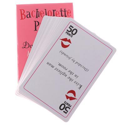 24 hen do party dare cards poules soirée rose accessoires nouveauté cartes filles