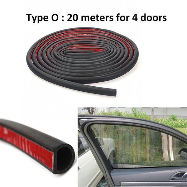 3M Car SUV Door O U Shape Channel Edge Edging Trim Seal Trunk Strip Black Rubber
