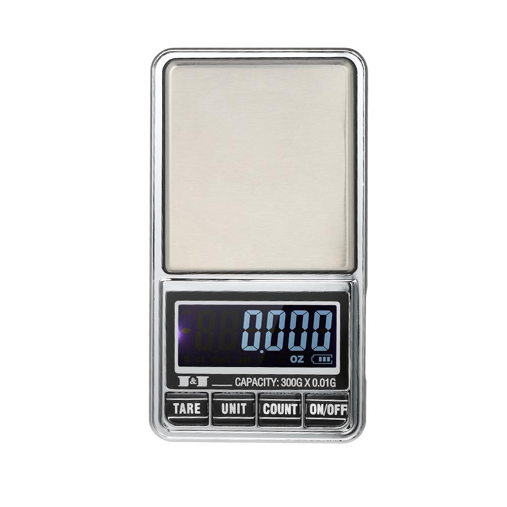 profesional  min Peso Electronico de Precision  Bascula Digital Pesa 300g//0.01g