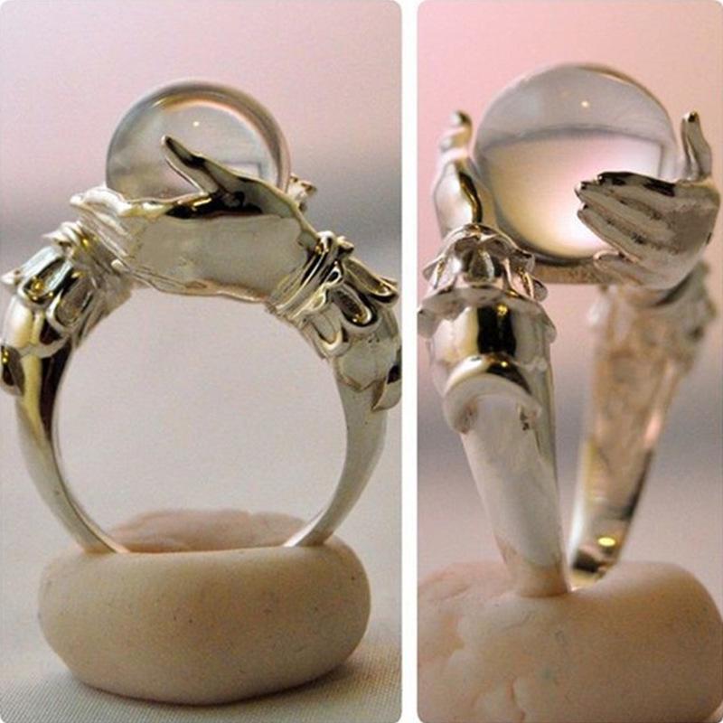 Frauen Schmuck personalisierte Ring Frauen Hochzeit Cocktail Party Ring