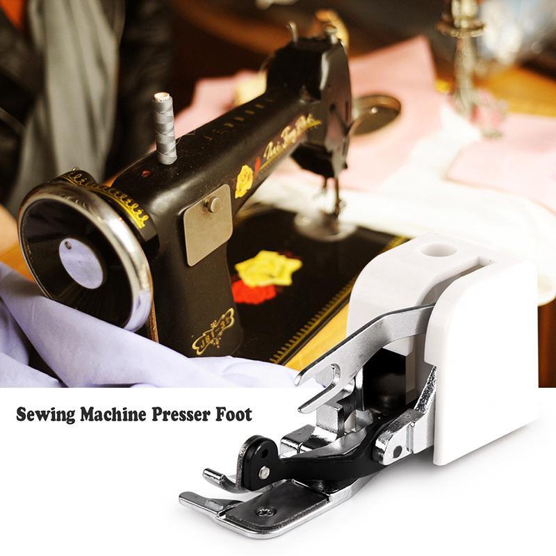 Lado corte máquina de coser prensatelas Pie pies accesorio accesorio ...