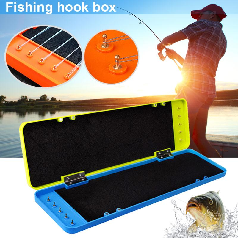 Крючок рыбалку буровой коробка дело большой емкости прочный ABS Drop доказательство Аксессуары  – купить по низким ценам в интернет-магазине Joom