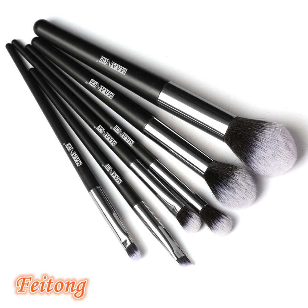 Feitong 6Pcs Eyeshadow Смешивание макияж кисть Установить порошок Фонд подводка для глаз кисти набор – купить по низким ценам в интернет-магазине Joom