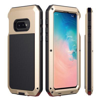 2d07717891d2f Дровыстойкий металлический алюминиевый корпус + силиконовый чехол для Samsung  Galaxy S10e S10 плюс крышка для Ударонепроницаемой