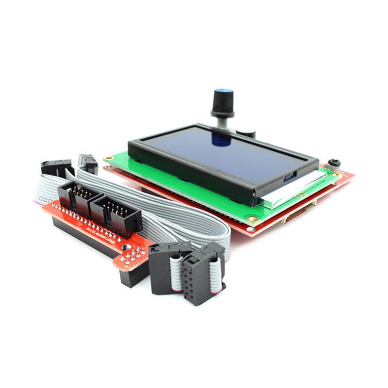 12864 Display LCD-3D-Drucker-Controller + Adapter für Rampen 1,4 ...