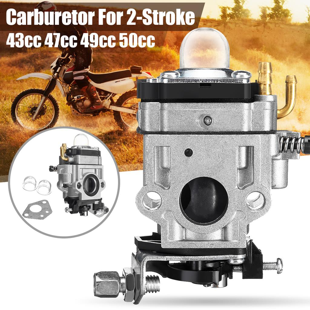 Tool Parts 11mm for 43cc 47cc 49cc Trimmer Chainsaw Lawn Mower Carburetor ATV Carb Repalce