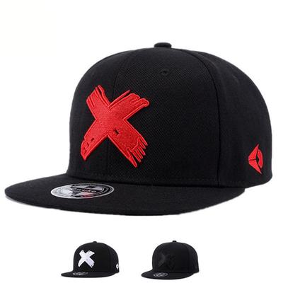 2ffc342e348 High Quality Men and Women Snapback caps X embroidery flat brim baseball cap  youth hip hop