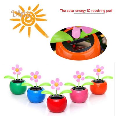 99217a1ffa852 B-Bay Solar Powered Dancing Flower Flip Flop Leaves Car Display Dashboard  Toy Gift Accessories