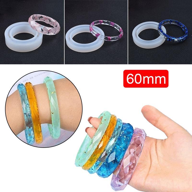 Resin Molds Lot of 7 Bangles Bangle Bracelets Different Sizes