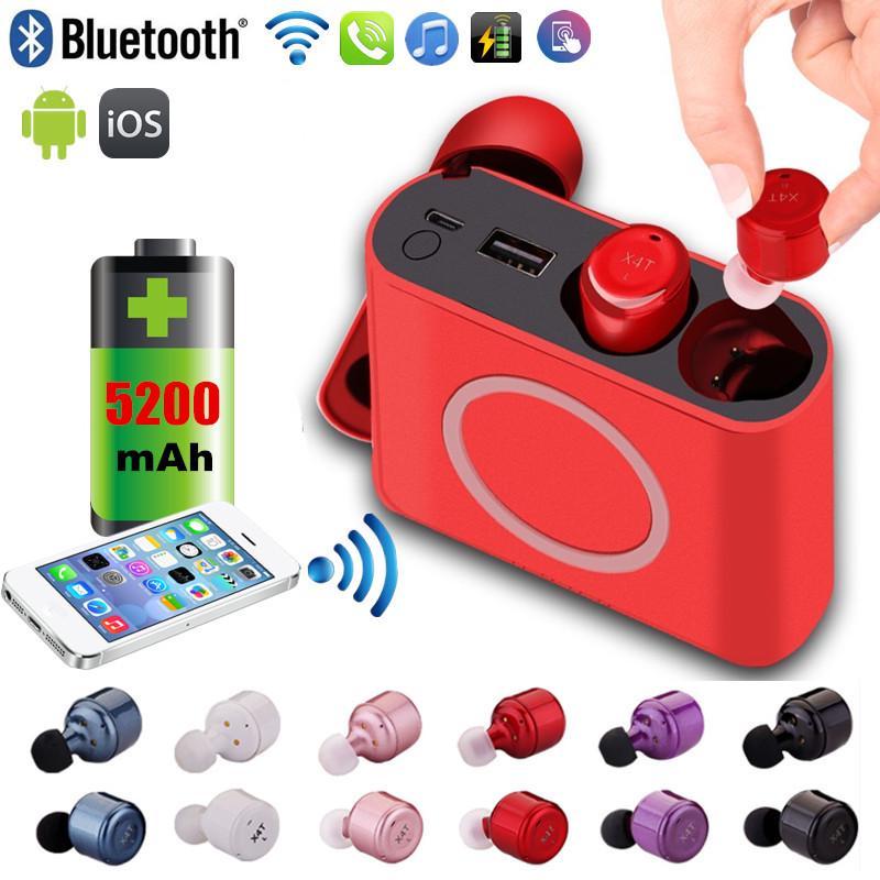 X4T багатофункціональний СПЦ Bluetooth навушники з 5200mAh ... 9f49f795bd93a