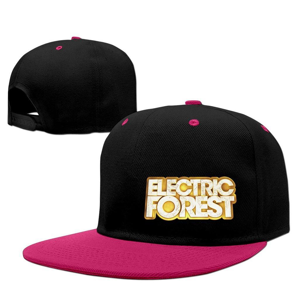 XLONG eléctrico bosque adulto ajustable casquillos de béisbol planas ... 42cf8104211