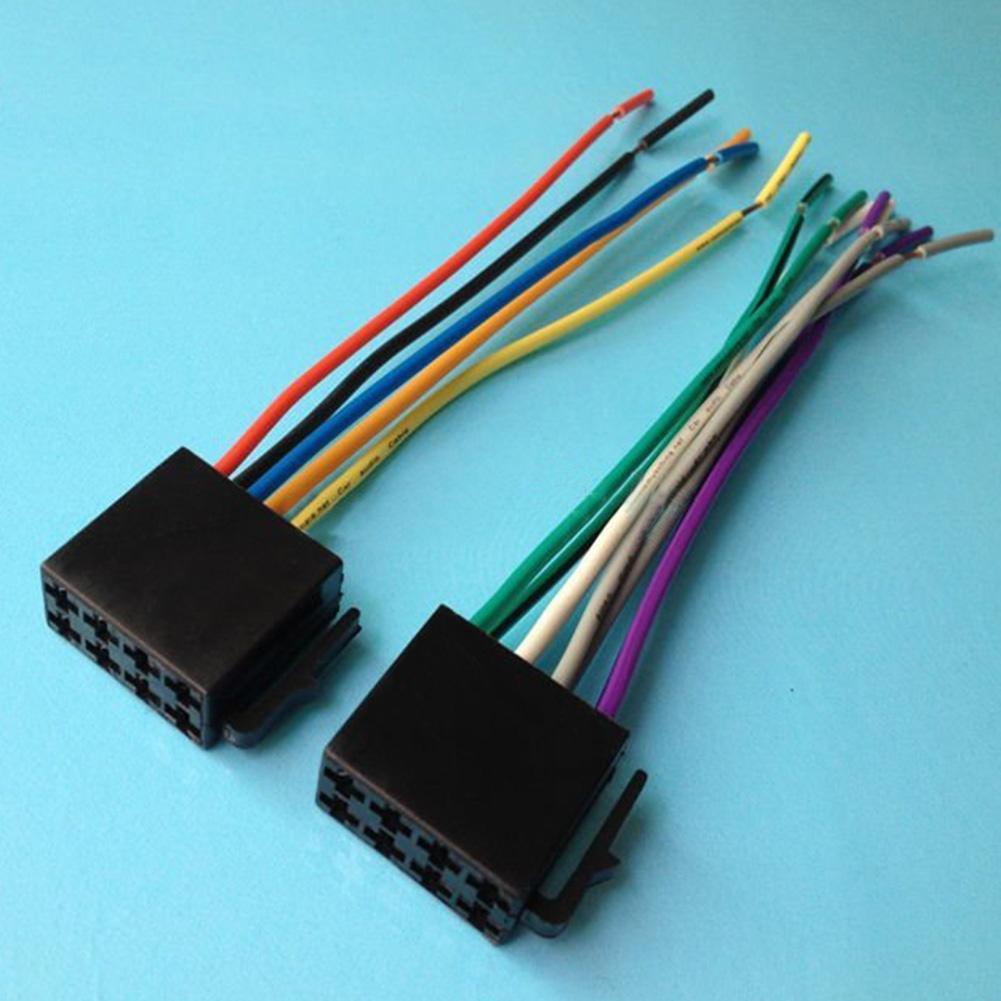 Universal ISO Draht Kabelbaum weibliche Radio Stecker Adapter Plug ...