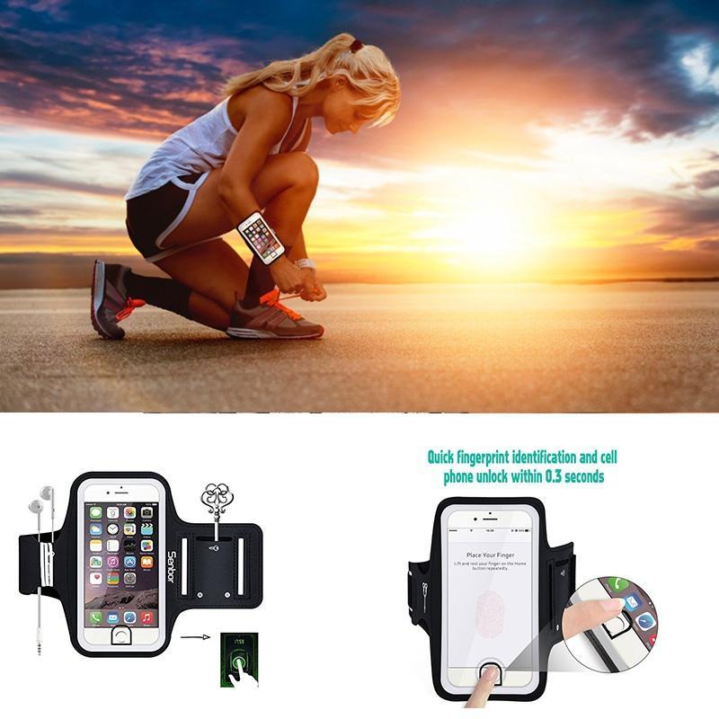 手臂带户外运动跑步手机臂带运动臂带魔术贴