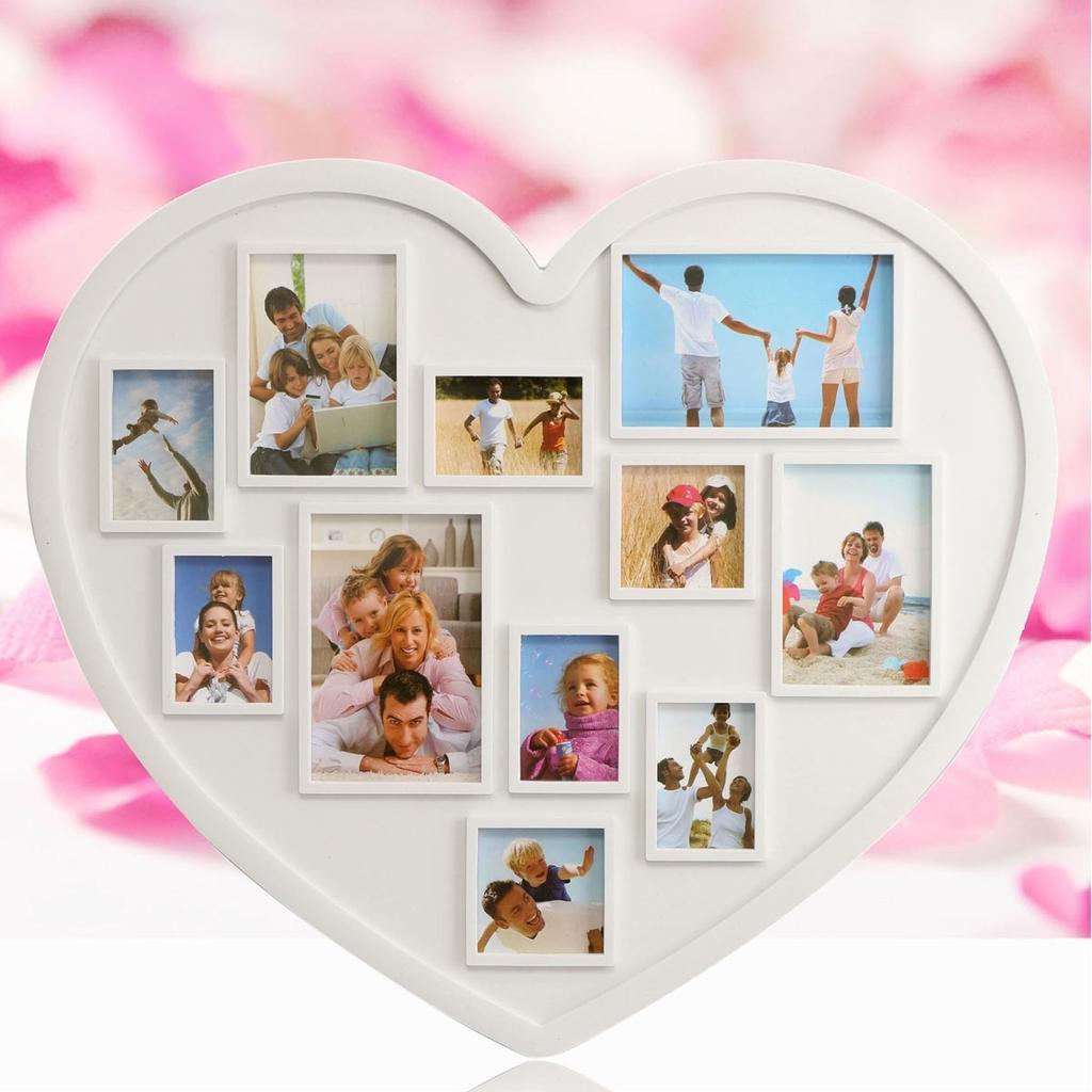11 herramientas de decoración cuadros PVC corazón forma Multi ...
