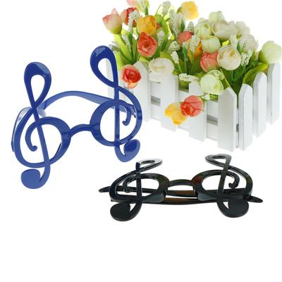 treble clef musical notes glasses sunglasses unisex costume party gift favors CL
