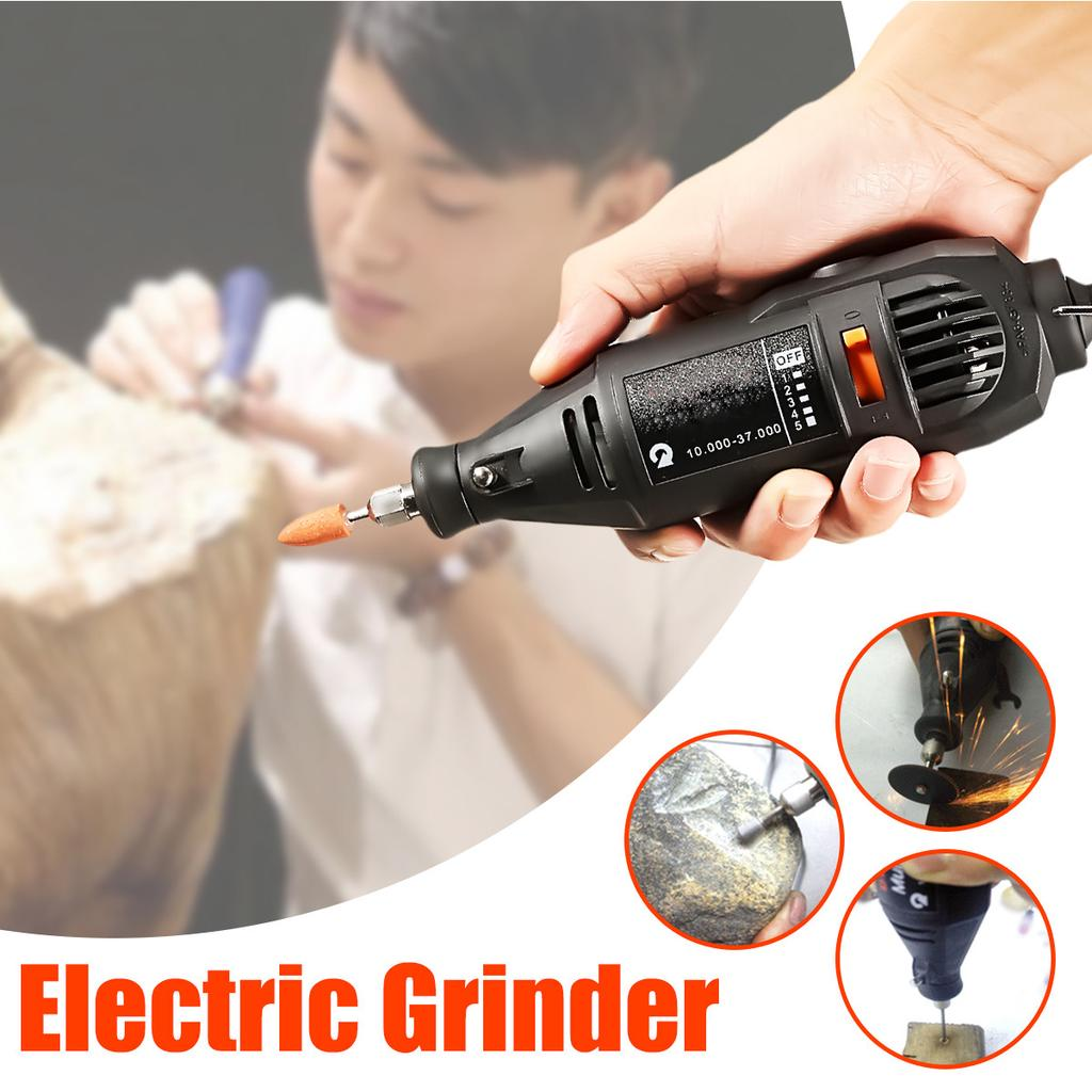 4-1//2/'' Angle Grinder Electric Metal Cut Off Tool Cutting Machine 1380W Corded