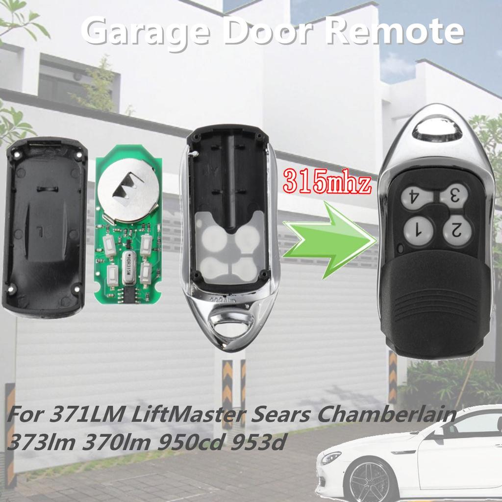 315mhz Garage Door Remote For Chamberlain Craftsman Liftmaster Sears 373lm 371lm Buy At A Low Prices On Joom E Commerce Platform