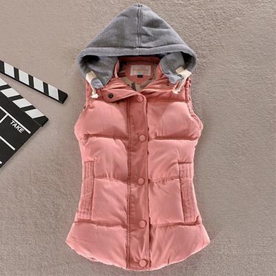 Висока якість весни зими на твердому жінок основні пальто сексуальний  бавовни жилет печворк без рукавів з bca50a16fe8a2