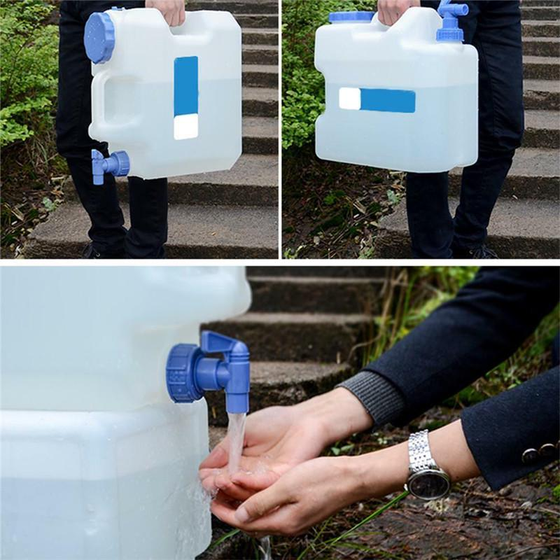 Water Carrier 20L Container Camping Caravan Folding with Tap Hiking Valve Handle