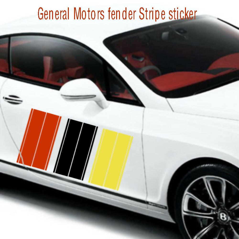 Graphic Waist Line Stripe Car Sticker Side Skirt Racing Decal For OPEL VECTRA