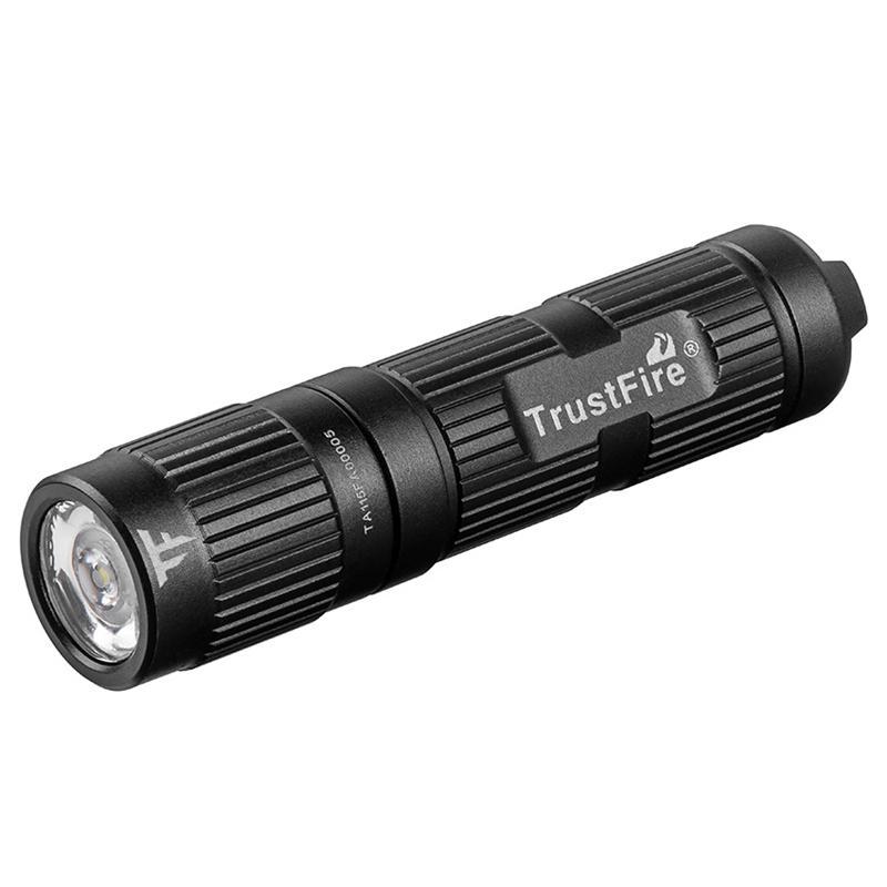 3W LED Mini Flashlight Torch Super Lamp Light Black 14500//AA Battery OC