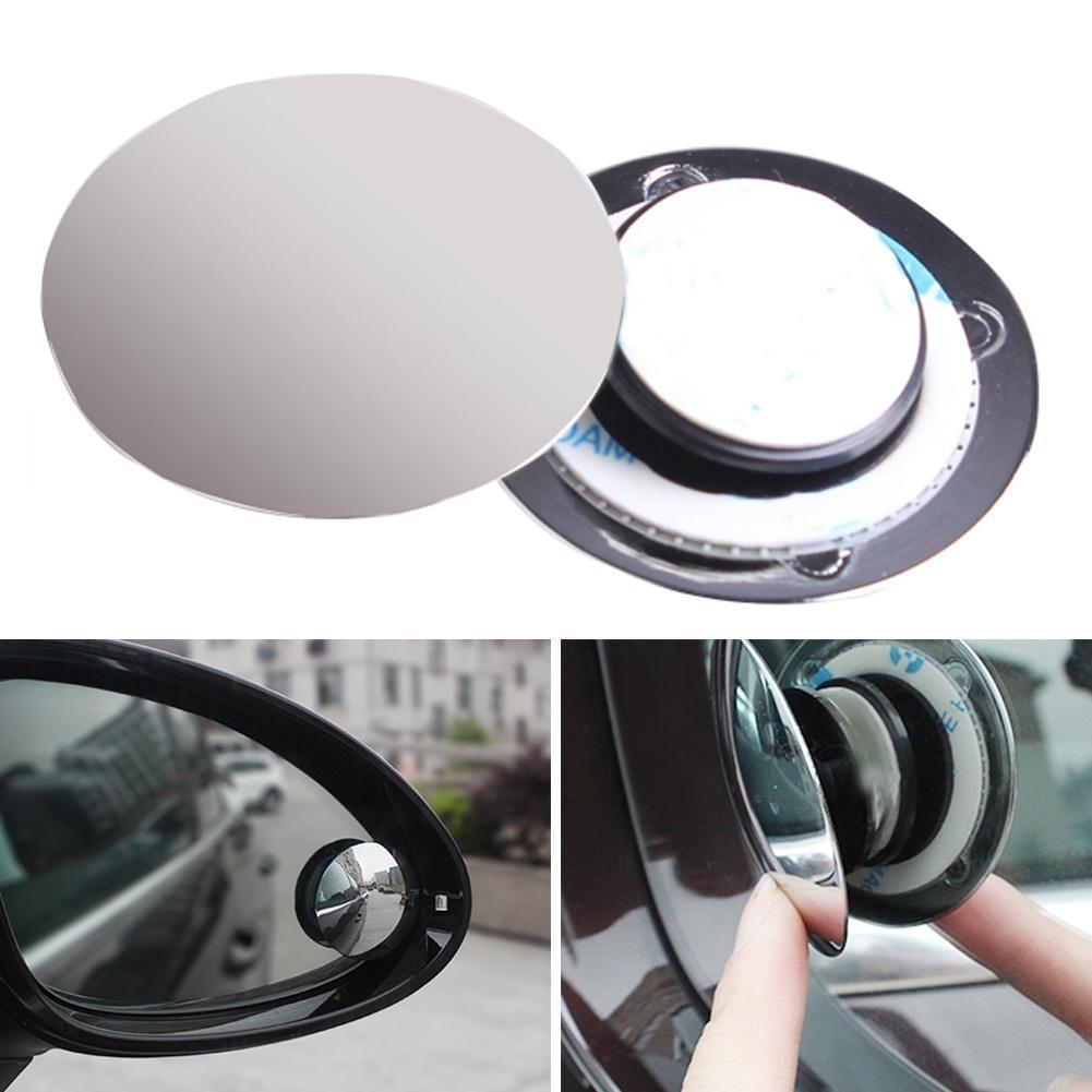A品一对装可调节360度小圆镜盲点镜