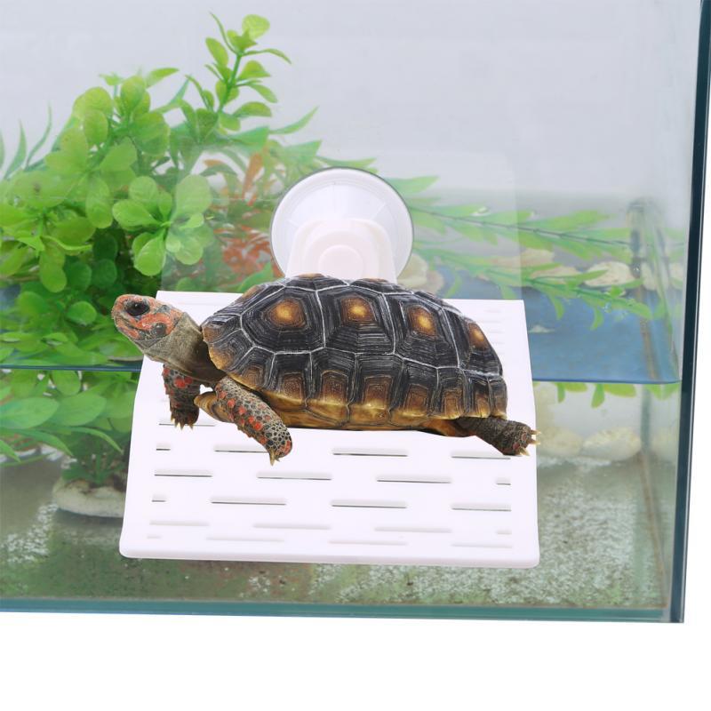 Aquarium Fish Tank Underwater Landscaping Resin Tortoise Turtle Reptiles Terrace Cave Decorations Ornaments Accessories Big Size Random Color Pet Supplies Tank Dividers