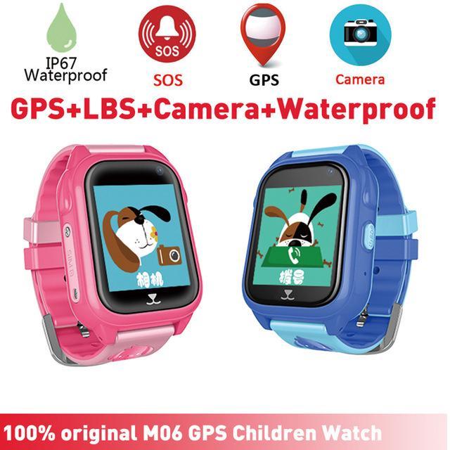 88c2c85e5913 GPS Smart Watch niños con cámara impermeable para niños inteligente ...
