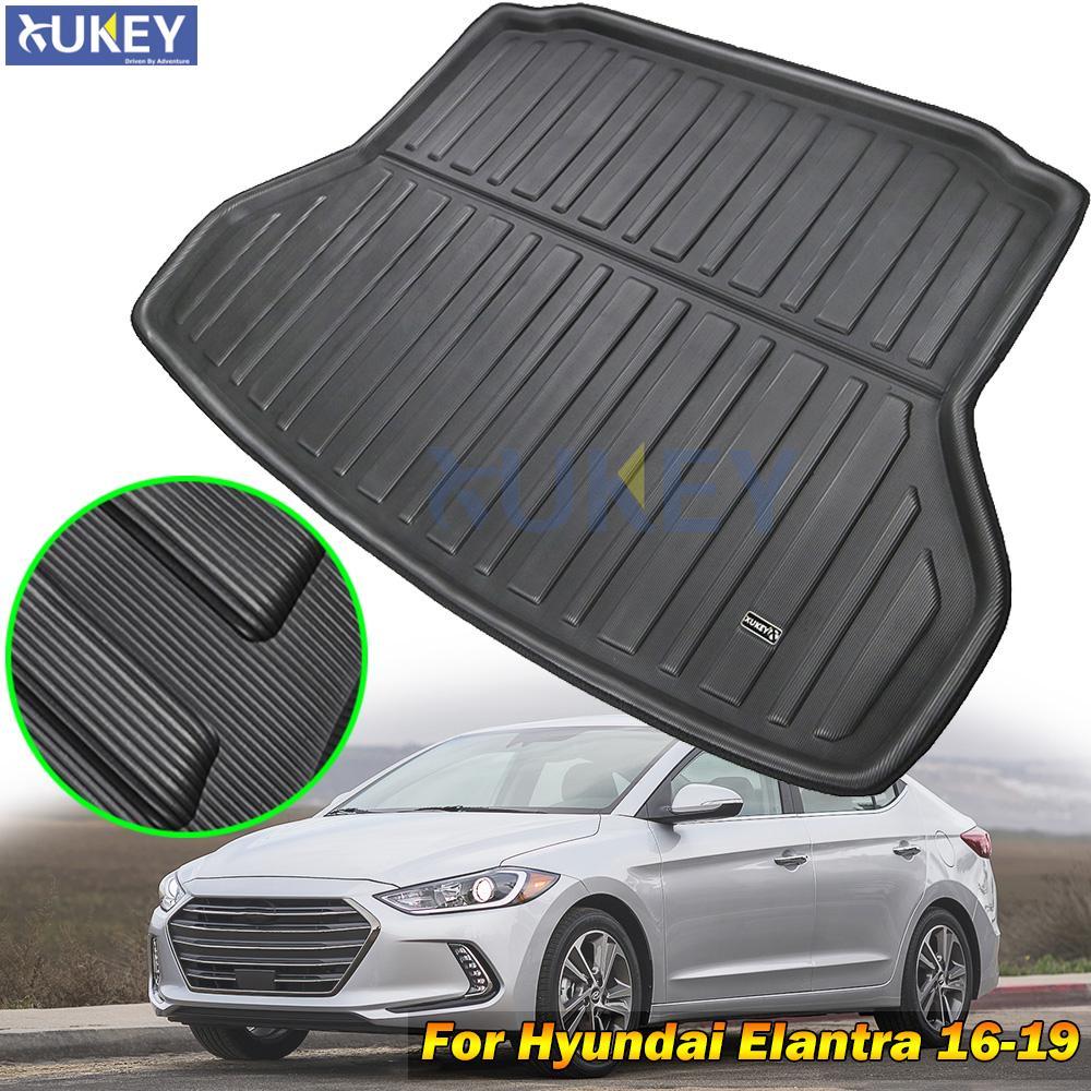 Car Floor Mats Front /& Rear Liner Waterproof Mat For Hyundai Elantra 2014-2018