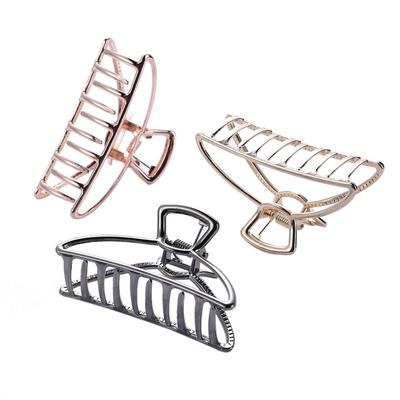 Fashion Womens Ladies  Hair Claws Clamp Clips Metal Hairpin Hair Accessories