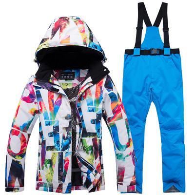 Winter Warm Ski Snow Suit Women Hoodie Clothing Outdoor ylR5M