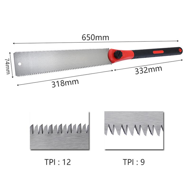 Hand Saw Wood Cutter For Tenon Wood Bamboo Woodworking Tools 1pc