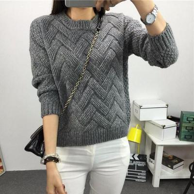 Women Long Sleeve Loose Sweater Knitted Cardigan Coat Jacket