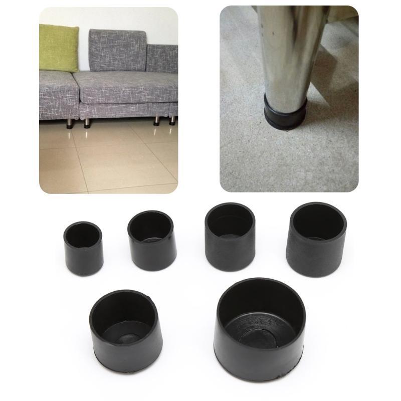 20Pcs Silla Tapas de patas Coj/ín protector de goma Cojines Fundas de mesa para muebles 4//8 16mm