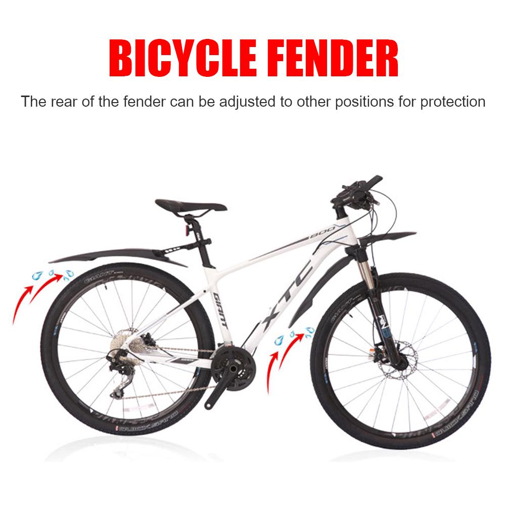 Bicycle Rear Front Mudguard Set for 26-29 inch MTB Mountain Fixed Gear Bike