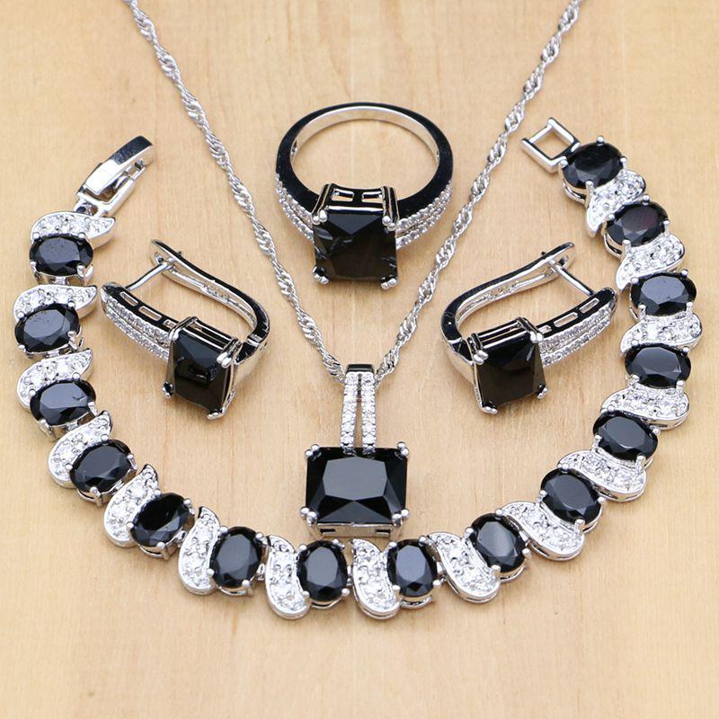Набор ювелирных изделий Jewelry с полудрагоценными камнями фото