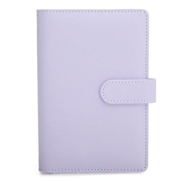 3 Macaroon Colors A5//A6 Sized Leather Loose Leaf Shell For Notebook//Diary Gift