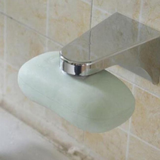 Домашний магнитный держатель для мыла Контейнер-дозатор Настенная насадка для мыла для ванной – купить по низким ценам в интернет-магазине Joom