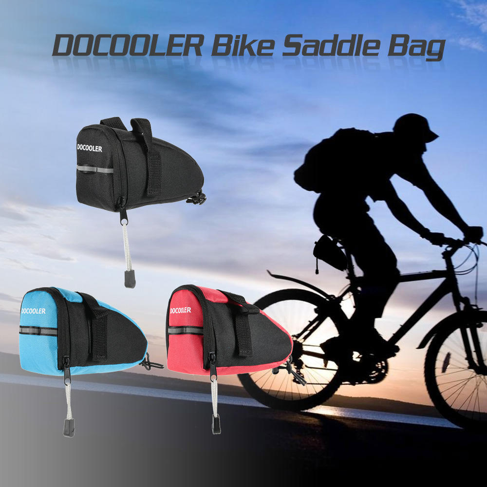 25L Waterproof Bike Saddle Bag Bicycle Seat Storage Tail Pouch Cycling Bags