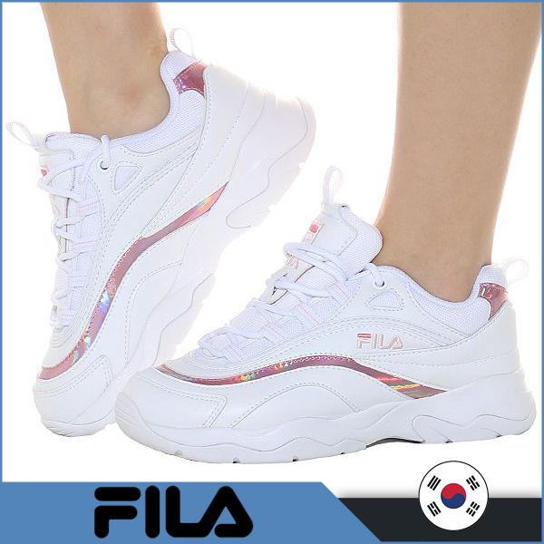 FILA Ray Prism Shiny Pink Sneakers-buy