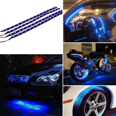 digital instrument SODIAL R 2 52MM blue LED digital instrument gauge fuel level Borletti car motorbike